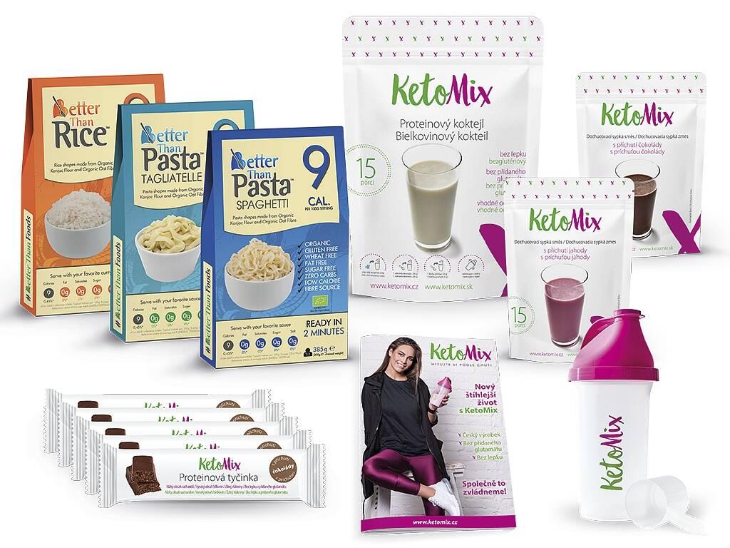 KetoMix Ochutnávkový balíček keto diéty 1 895 g